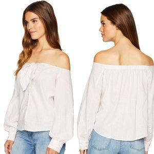 NWT Free People Off the Shoulder Blouse
